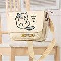 Neko Atsume Kawaii Katze Leinwand Schule Taschen Lolita Umhängetaschen für Frauen Niedlich Schulter Taschen Frauen Messenger Taschen Neko Bookbag