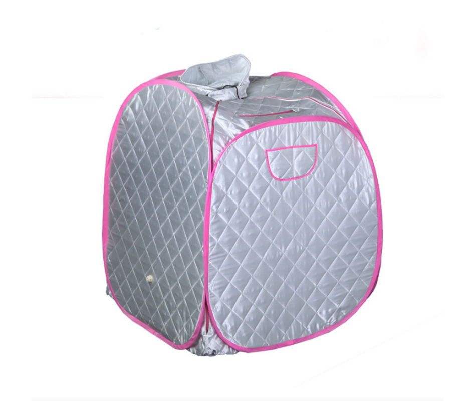 Portable Foot Steam Sauna Boxes Bucket Folding Steamer Sweat Machine For Body Slimming Skin Caring Facial Spa Tent Steamer free shipping body detox machine spa steamer home steam sauna family khan steam room fumigation machine sweatbox folding