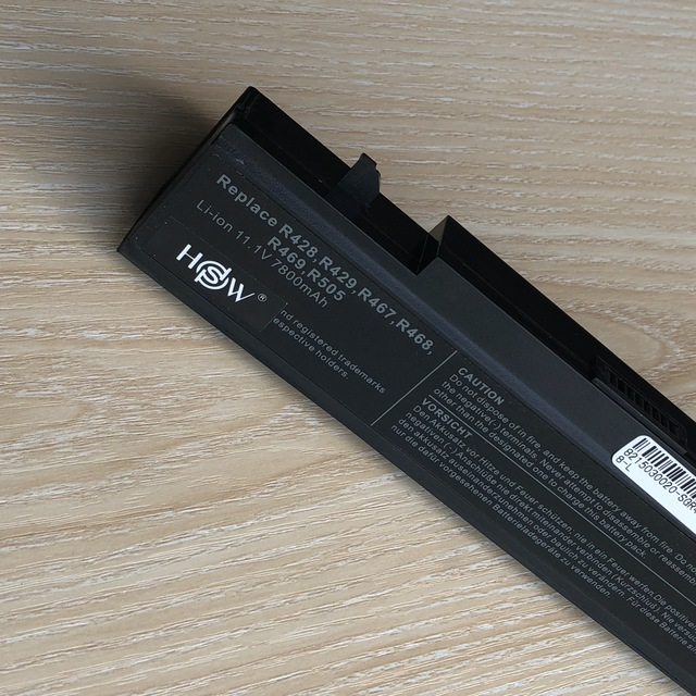 9 celular 7800mAh da bateria Do Portátil para Samsung R718 R720 R728 R730 R780 RC410 RC510 RC710 RF411 RF511 RF512 RF711 RV409 RV520 X360