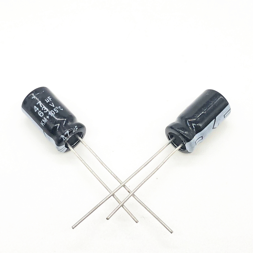 30pcs 63V 47UF 6*12 High Frequency Low Impedance Aluminum Electrolytic Capacitor 47uf 63V 20%