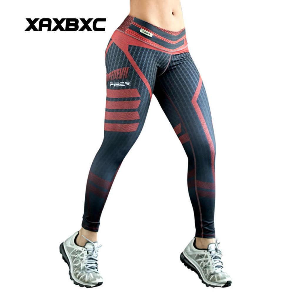 35594418cc074 HI-Q Stitch 0032 Mesh Stripes Wonder Woman Prints Slim Fitness Workout Push  Up Sexy