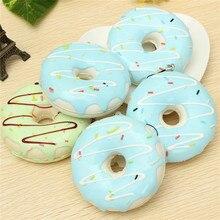 Squishies джамбо пончик качестве ароматические шоколад очаровательный моделирование подарков питание kawaii