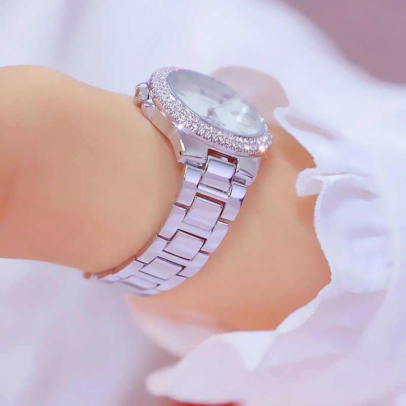 2019 nouveauté de luxe femmes montres célèbre marque élégante robe Quartz montres dames strass montre-bracelet Relogios Femininos