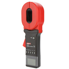 UNI-T UT276A Auto Range Digital Clamp Earth Ground Resistance Testers Megohmmeter Clamp Meters Ohmmeter w/ RS-232 Interface uni t ut220 2000a digital clamp meters measure multimeters auto range data hold lcd backlight resistance meters megohmmeter
