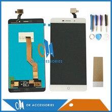 Черно-белый цвет для Elephone P9000 ЖК-дисплей Дисплей + Сенсорный экран планшета Ассамблеи с Инструменты и Клейкие ленты 1 шт./лот