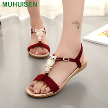 cb1f3fe026a6 Muhuisen Womens Sandals Cheap Price Women Casual Sandals Shoes For Fashion  Lady Flat Sandal Female Summer