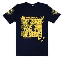 Brdwn ORZ Unisex Noragami  Yato 5 Yen cosplay T-shirt 100% Cotton Tops Tees
