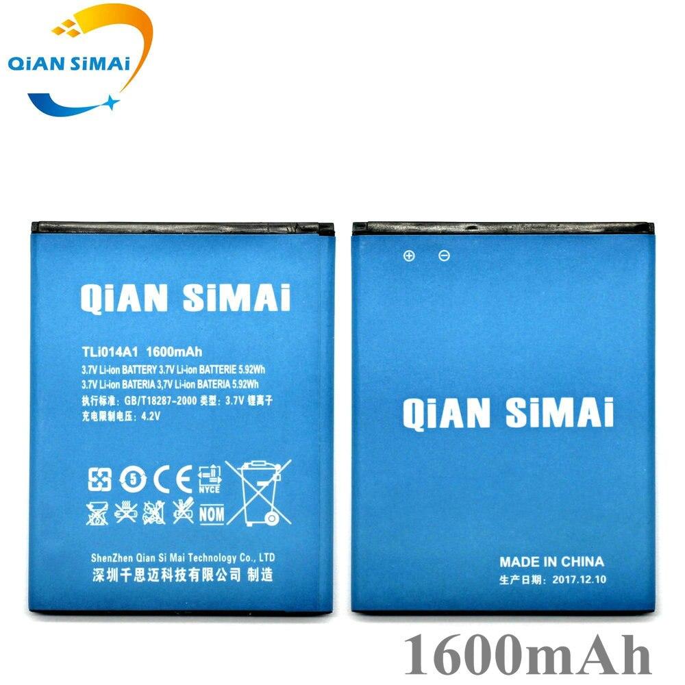 QiAN SiMAi For Alcatel M'Pop 5020 5020D fire 4012 4012A 4012X 4007D Pixi 3 4.5 4027 4027D /A 4027X 4010 4010D Tli014A1 battery