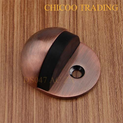 Wholesale Antique copper Ellipse type doorstops Zinc alloy oval shape door stopperFloor door stop & Wholesale Antique copper Ellipse type doorstops Zinc alloy oval ...
