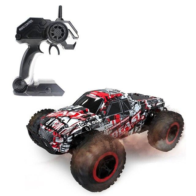 2016 Mais Novo Carro de RC 1:16 2.4G 25 km/h Alta Velocidade Do Carro de Corrida modelo off road rock crawlers besta veículo toys para presente das crianças