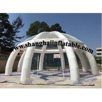 Canopy tent inflatable marquee beach tent/china transparent tent inflatable bar tent
