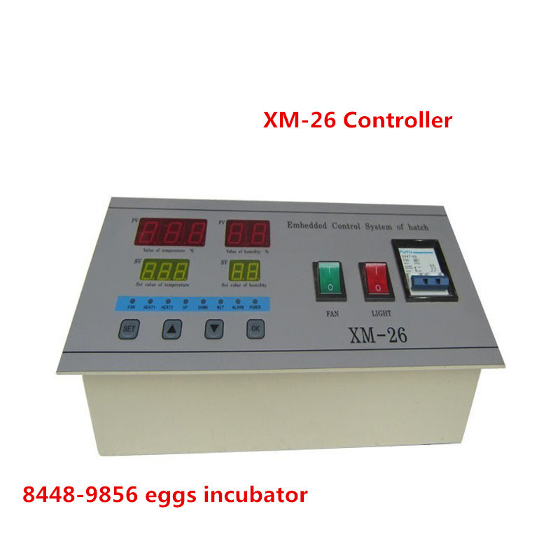 Professional digital temperature and humidity incubator controller XM-26 for egg incubator for sale  temperature controller digital temperature controller for incubator 48 48 70mm spg 6000