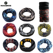 ROCKBROS Winter Fleece Hiking Scarf Neck Warmer Magic Face Mask Scarfs Outdoor Sport Motorcycle Cycling Running Climbing Bandana(China)