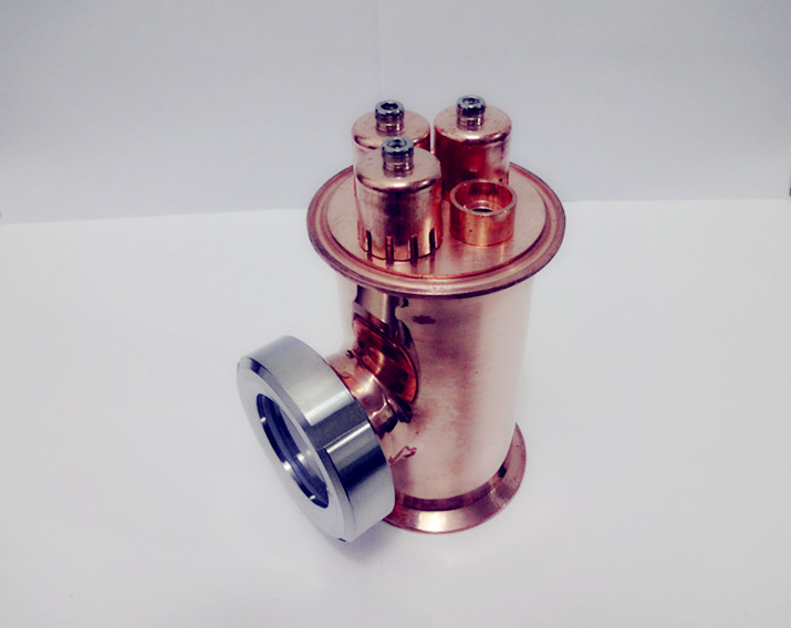 Free Shipping 3 Copper Sight Glass Union Tri-Clamp Tee 3*3*2,Distillation Lens Column For Home Brewing ,Length 150mm