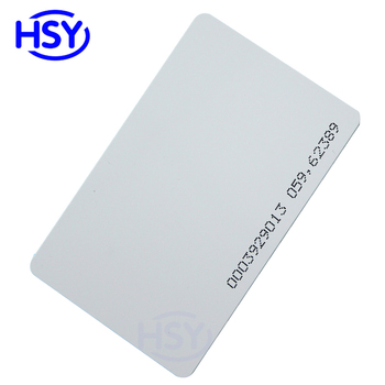 Access Control 125Khz EM4100 Proximity EM ID Card T5577 Rewritable Ntag213 NFC 13.56Mhz MF IC Comptible S50 1K RFID Smart Cards image