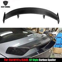 For Mercedes Benz CLA CLASS W117 CLA45 Carbon Fiber Rear Trunk Spoiler 2013 2014 2015 2016 UP GT Spoiler Wing Lid car styling
