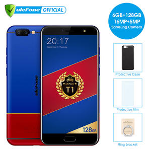 "Ulefone T1 Premium Edition Mobile Phone 5.5 ""FHD Helio P25 Octa Core Android7.0"