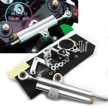 CNC de aluminio ajustable motocicletas dirección estabilizar amortiguador soporte Kit de montaje para DUCATI 848, 2008-2010