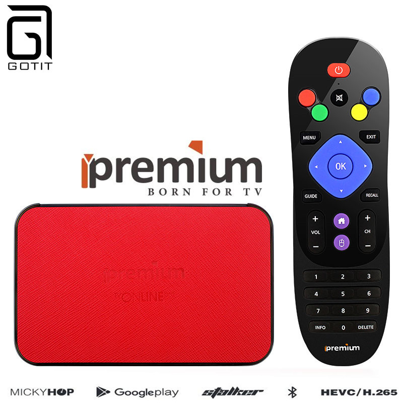 Ipremium TVONLINE Pro+ IPTV Streaming Android TV Box Amlogic S905X 4K Ultra HD Google pl ...