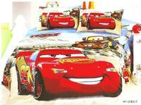 Lightning McQueen Cars Bedding Set Single Twin Size Bedclothes Bed Quilt Duvet Cover Sheet Children S