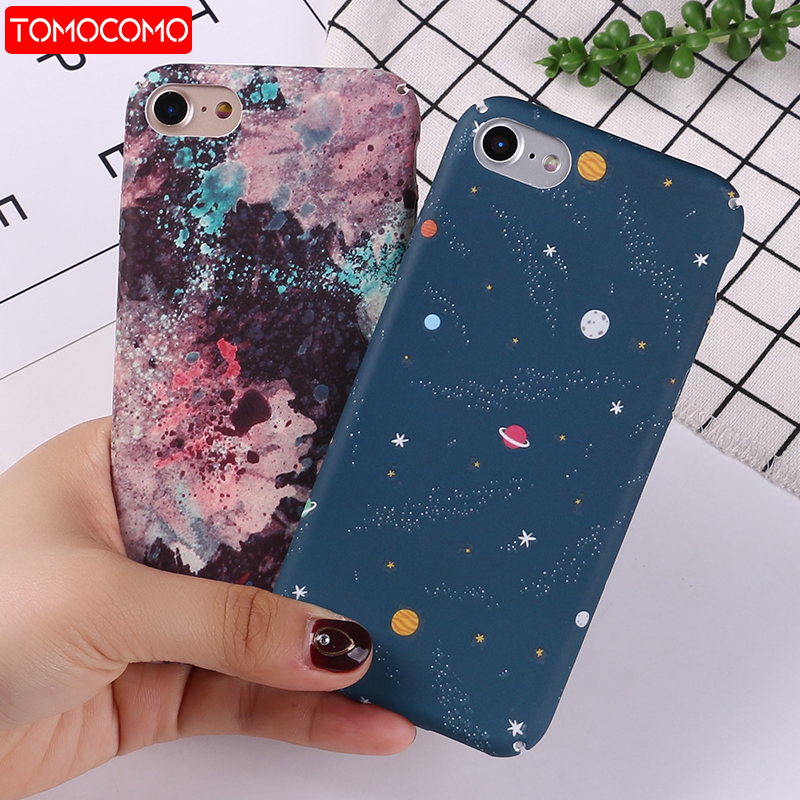 TOMOCOMO Fashion Geometric Graphic Pattern Case For iphone 7 Case For iphone8 8 PLus Phone Cases Colorful Abstract Back Cover