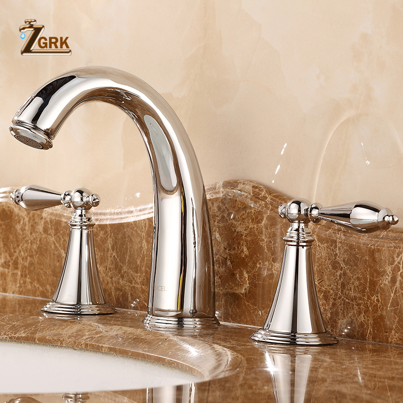 ZGRK Basin Faucets Antique Electroplated Deck Bathtub Mixer Faucet Handheld Shower Widespread Bathtub Faucet Set Water TapZGRK Basin Faucets Antique Electroplated Deck Bathtub Mixer Faucet Handheld Shower Widespread Bathtub Faucet Set Water Tap