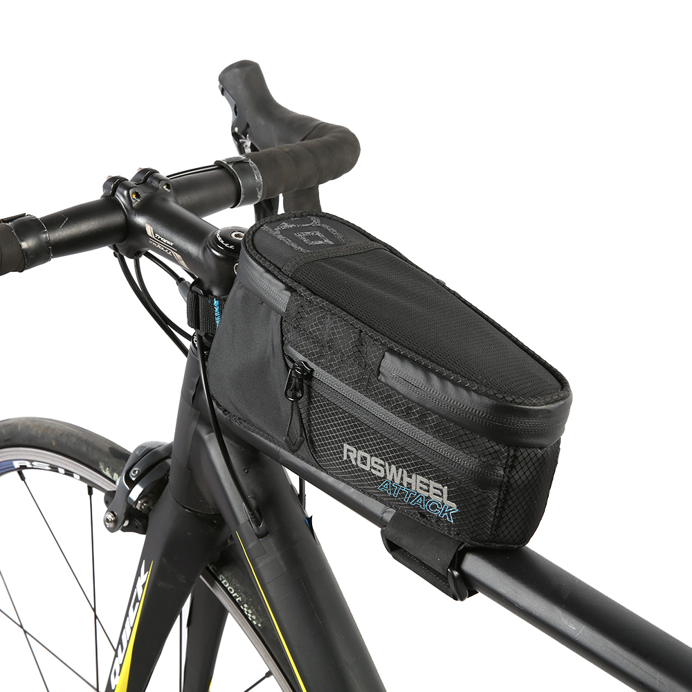 Roswheel Bicycle Top Tube Bag Waterproof Nylon Tpu Bike