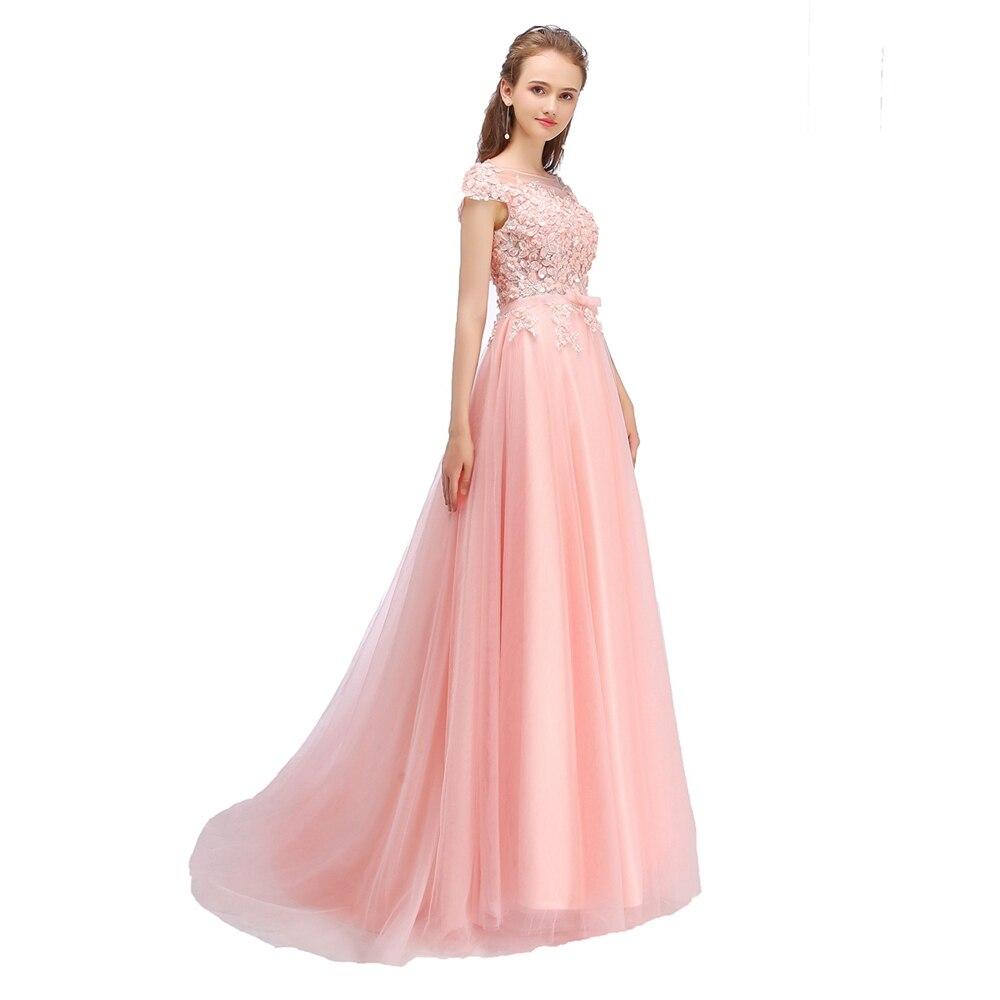 Ssyfashion nuevo vestido de noche del banquete La novia dulce Rosa ...