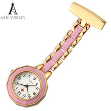Alk vision часы медсестры fob карманные подарок для медсестер