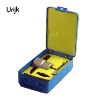 Urijk 5Pcs Nibbler Sheet Metal Cutter Nibble Metal Cutting Double Head Sheet Saw Cutter Tool Drill