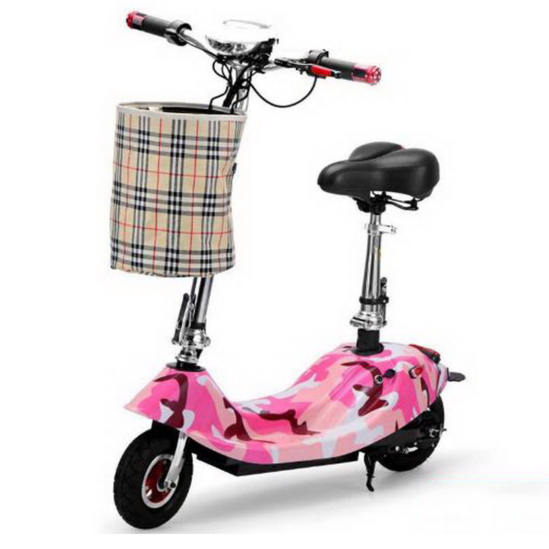 Excellent 261002/Ladies portable mini dolphin electric scooter / can carry children electric bikes / electric cars/Comfortable cushion 3