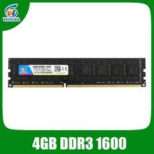 Veineda 4gb ddr3 PC Memory RAM Memoria Module Computer Desktop 1066 1333 1600MHZ 240ins for All AMD Intel