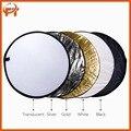 """24 """"(60 cm) 5-en-1 Multi-disco Portátil Plegable Fotografía Reflector de Fotos"""