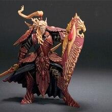 8″20cm DC3 Blood Elf Paladin [Quinthalan Sunfire] Action Figure WOW Famous Online Game Character PVC Toy S014