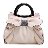 Qiaoduo New Sweet Ladies Bag Bowknot Fashion Women S Handbags Pu Leather Shoulder Messenger Bags Sweet
