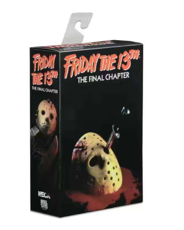 New NECA Classic Horror Film Friday The 13th The Final Chapter Killer Jason 18cm Action Figure neca friday the 13th the final chapter jason voorhees pvc action figure collectible model toy 7inch 18cm