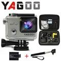 Gopro hero 4 estilo yagoo8 4 k wi fi câmera esporte 170 graus de largura da lente Capacete Cam ir pro câmera subaquática de mergulho de água-prova