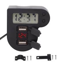 Водонепроницаемый двойной usb зарядное устройство для мотоцикла