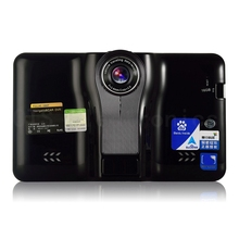 Udrive Nueva 7 pulgadas GPS Android GPS Radar DVR AVIN Detector de 16 GB WiFi Internet Tablet Hd1080p Grabador de Vídeo FM transmisor