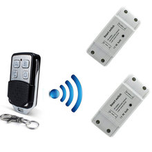 rf wireless receiver module  433mhz transmitter module universal wireless remote control receiver diy switch for smart home все цены