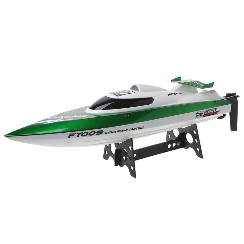De alta velocidad RC Racing barco FT009 2,4G 4CH Radio Control barcos con rectificar la función de enfriamiento de agua y auto  corregir juguete-in Barcos RC from Juguetes y pasatiempos    1