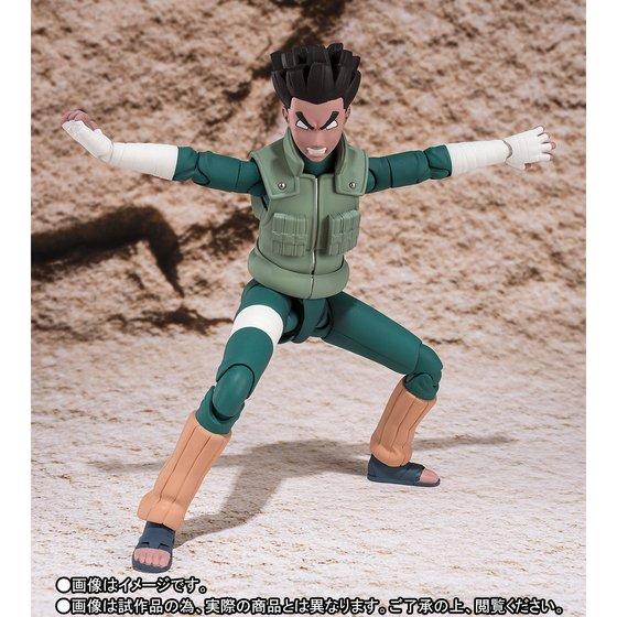 Image 4 - 100% Original BANDAI Tamashii Nations S.H.Figuarts (SHF) Exclusive Action Figure   Rock Leebandai tamashii nationsaction figurenaruto shippuden -