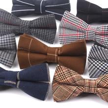 Для мужчин S бабочкой Новое Бизнес Костюмы галстук-бабочка для Свадебная вечеринка Классический сплошной Для мужчин с бантом Галстуки Брендовые мужские Интимные аксессуары