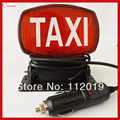 New 12v cigarette lighter socket Suction Taxi sign Light Taxi Cab lamp Taxi indicator license plate lighting