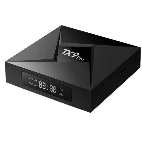 Tanix TX9 Pro TV Box Amlogic S912 Octa-core CPU Android 7.1 OS 4K Smart TVBOX 1000M LAN 3G RAM 32G ROM 5,8G WIFI Media Player