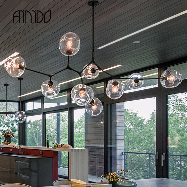 New vintage clear glass ceiling light nordic droplight sitting new vintage clear glass ceiling light nordic droplight sitting room bedroom restaurant droplight industrial engineering lamp mozeypictures Choice Image