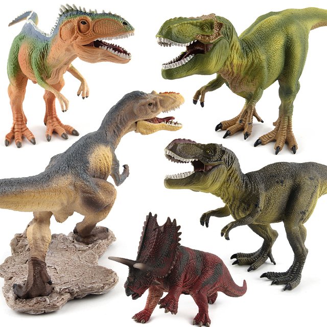 Jurassic world park tyrannosaurus rex yutyrannus giganotosaurus jurassic world park tyrannosaurus rex yutyrannus giganotosaurus dinosaur plastic toy pentaceratops model action figures e thecheapjerseys Image collections