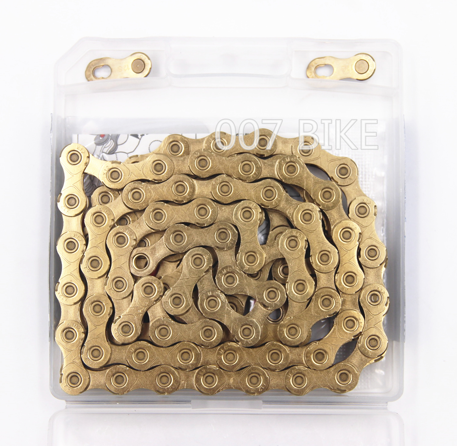 Image 3 - KMC X12 gold Chain 12 Speed Mountain Bike Bicycle Chain Original X12  MTB Road Bike 126L 24 speed Chains-in Bicycle Chain from Sports & Entertainment