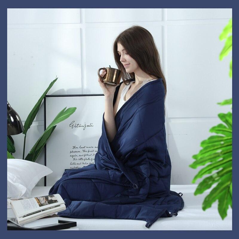 높은 품질 가중 담요 중력 잠자는 담요 감압 퀼트 가중 담요 공기 불면증 컨디셔닝 이불-에서담요부터 홈 & 가든 의  그룹 3