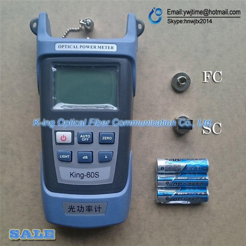 KING-60SB Fiber optical power meter OPM -50 ~ + 20dbmKING-60SB Fiber optical power meter OPM -50 ~ + 20dbm